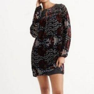 ABERCROMBIE & FITCH Velvet Mini Dress